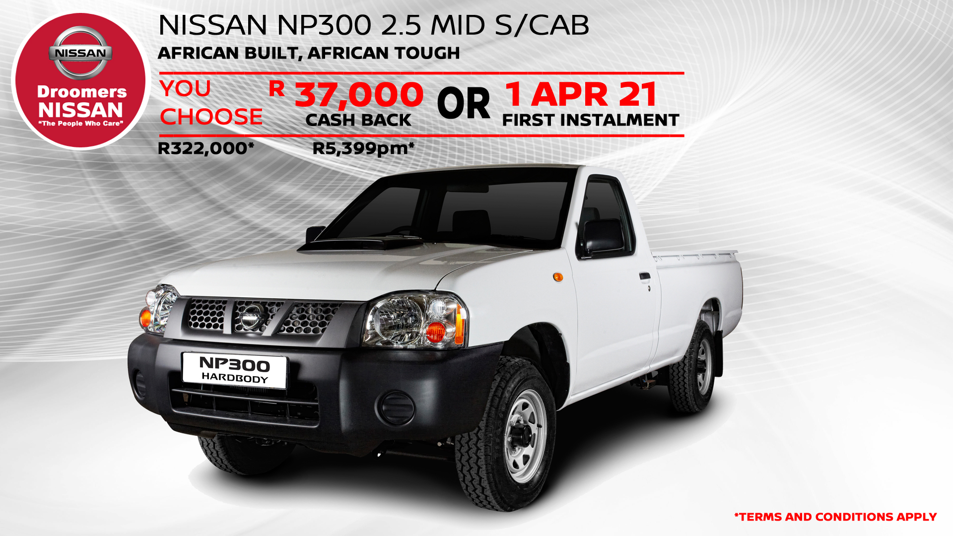 NISSAN NP300 2.5 MID S/CAB